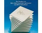 PallSeitzSchenk Filterschichten, quadratisch 60x60, Preis pro Stk, 25 Stk./Pack