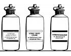 Titrovin Lauge für gesamte S0-2.  250 ml