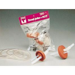 Demi-John-Kit mit 2 Gummikappen
