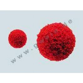 Schwammgummiball für 19er Schlauch. Drm. 23 mm