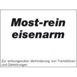 MostRein Pore-Tec eisenarm 20 kg Gebinde