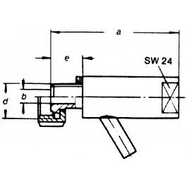 Probierventil mit Schlüssel KM DN20