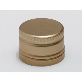 Anrollverschlüsse aus Aluminium PP28 Standard mit Sicherungsring