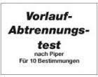 Vorlauf-Abtrennungstest-Nachfüllreagenzien für 10 Tests
