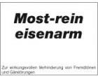 MostRein Pore-Tec eisenarm 5 kg Gebinde
