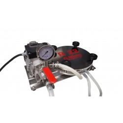 ENOL Schichtenfilter (Rundfilter) R22 VA/VA mit Edelstahl Kreiselpumpe